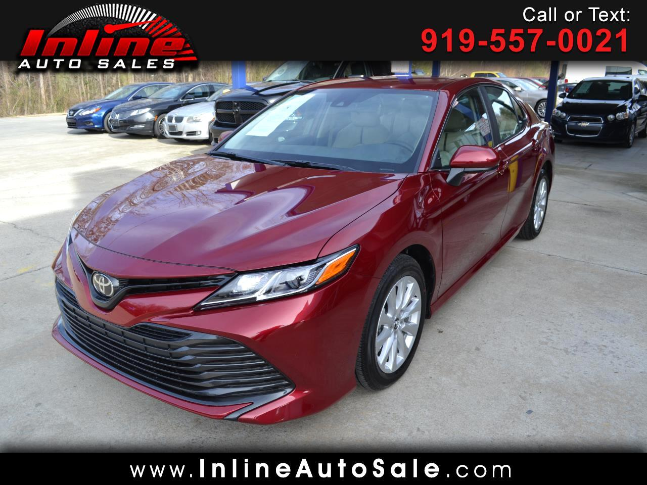 2019 Toyota Camry 2014.5 4dr Sdn I4 Auto LE (Natl)