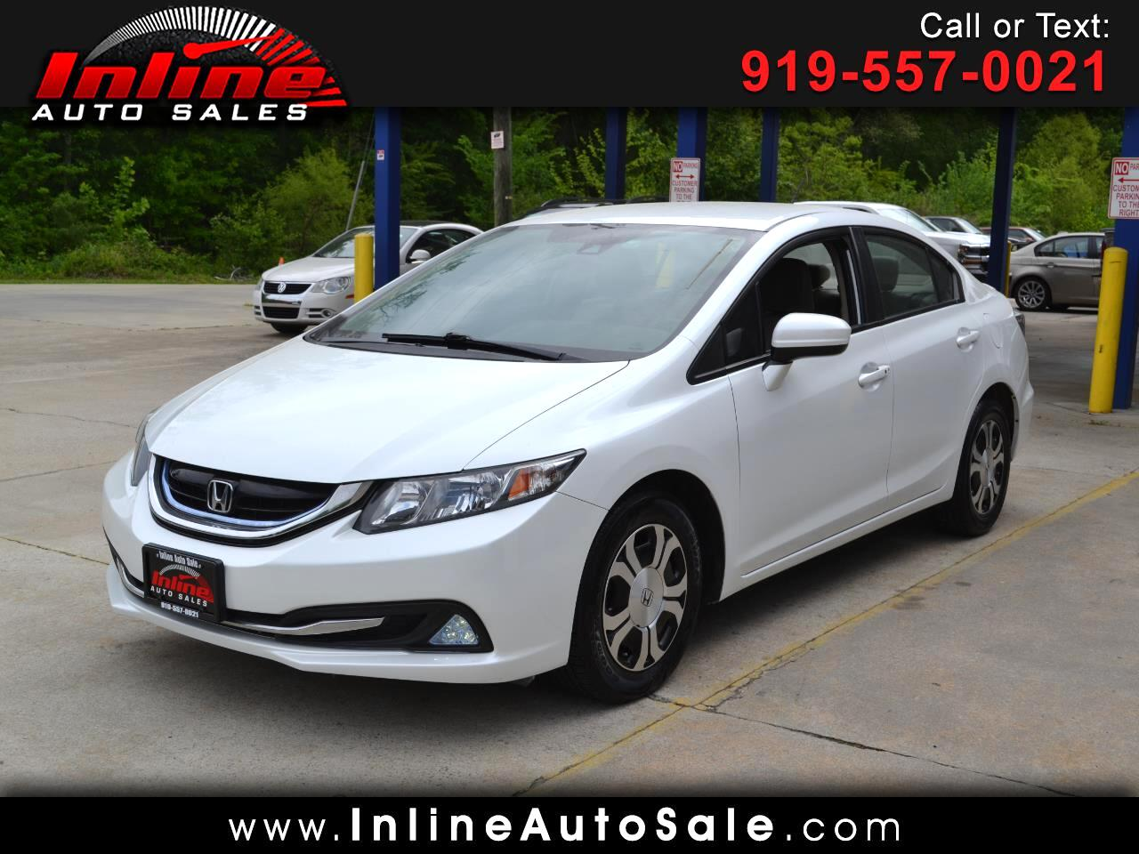 2014 Honda Civic Hybrid 4dr Sdn L4 CVT w/Leather