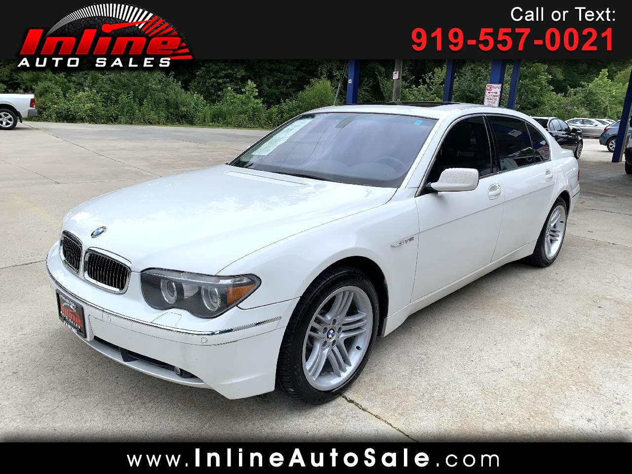 2004 BMW 7 Series 760Li 4dr Sdn
