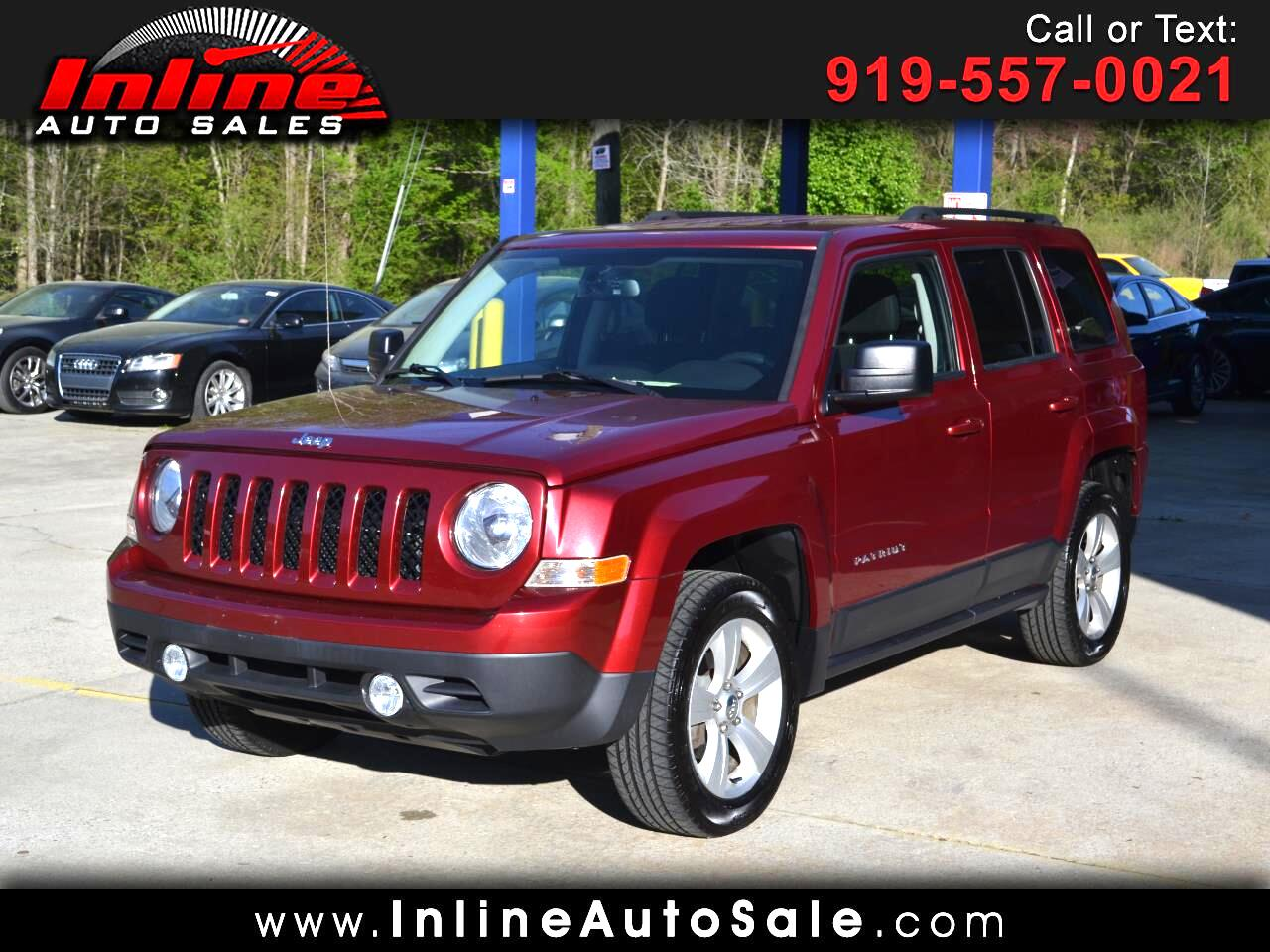 2016 Jeep Patriot 4WD 4dr Latitude
