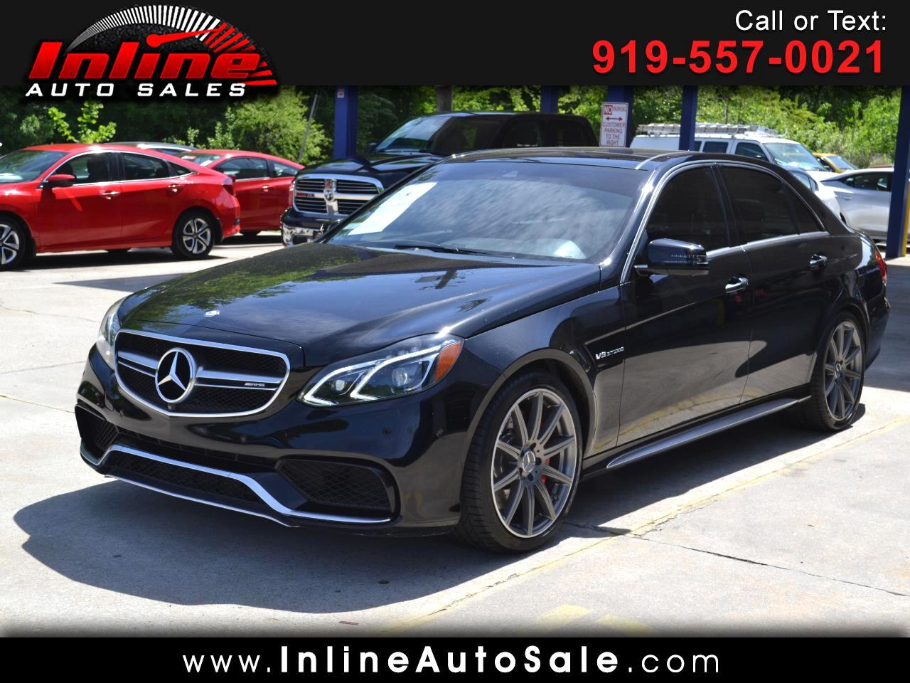 2015 Mercedes-Benz E-Class 4dr Sdn E 63 AMG S-Model 4MATIC