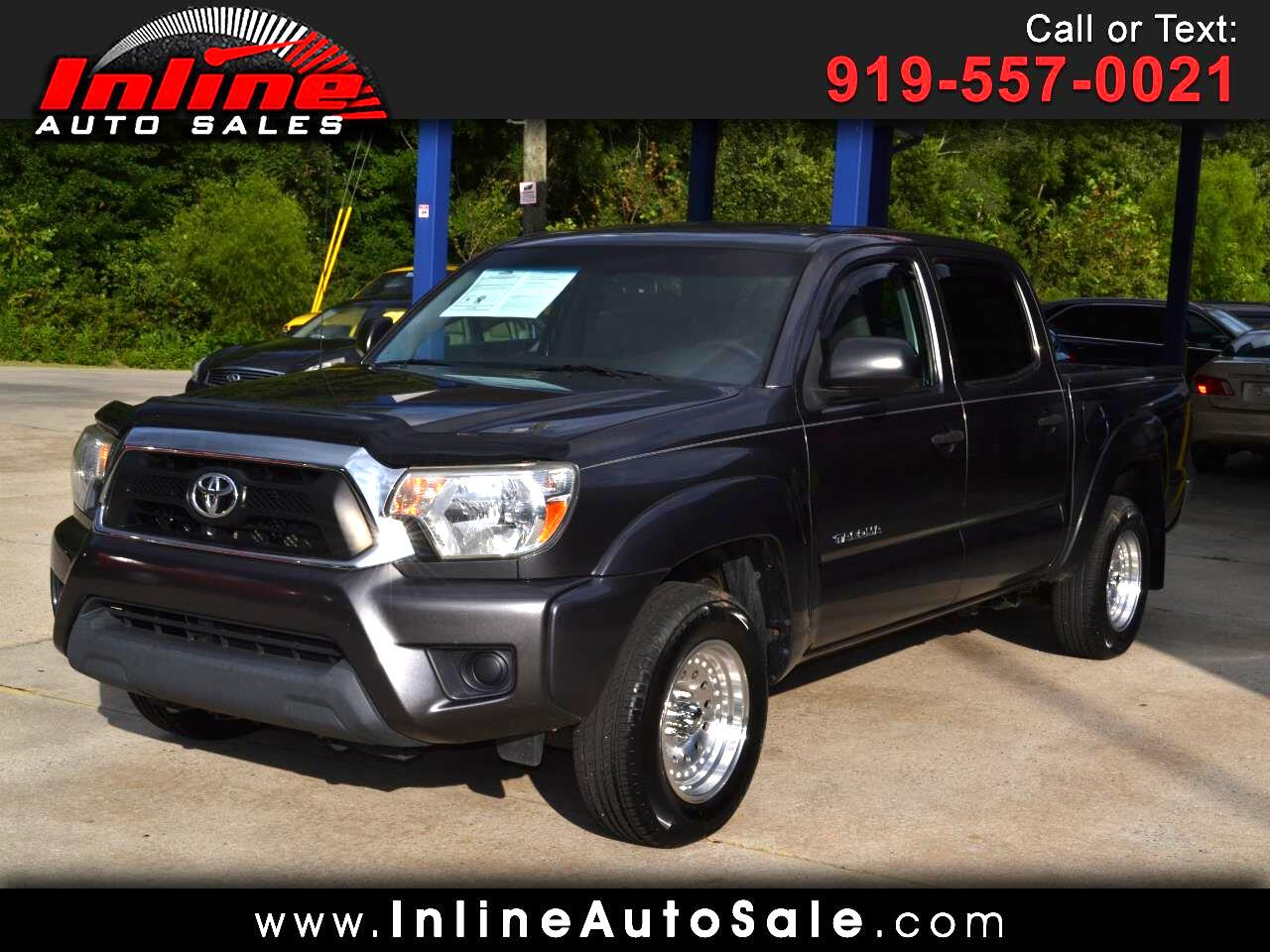2013 Toyota Tacoma 2WD Double Cab I4 AT (Natl)