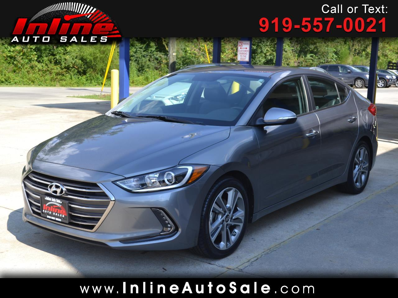 2017 Hyundai Elantra Limited 2.0L Auto (Ulsan) *Ltd Avail*