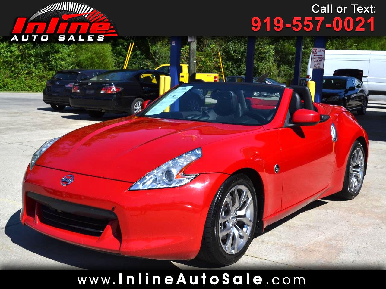 2012 Nissan 370Z 2dr Roadster Manual Touring