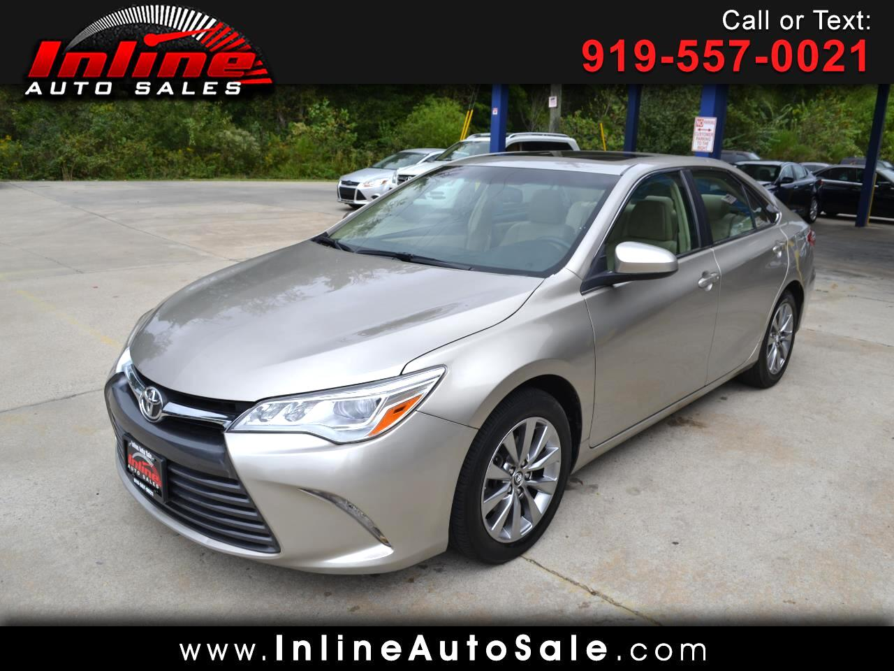 2016 Toyota Camry 4dr Sdn V6 Auto XLE (Natl)