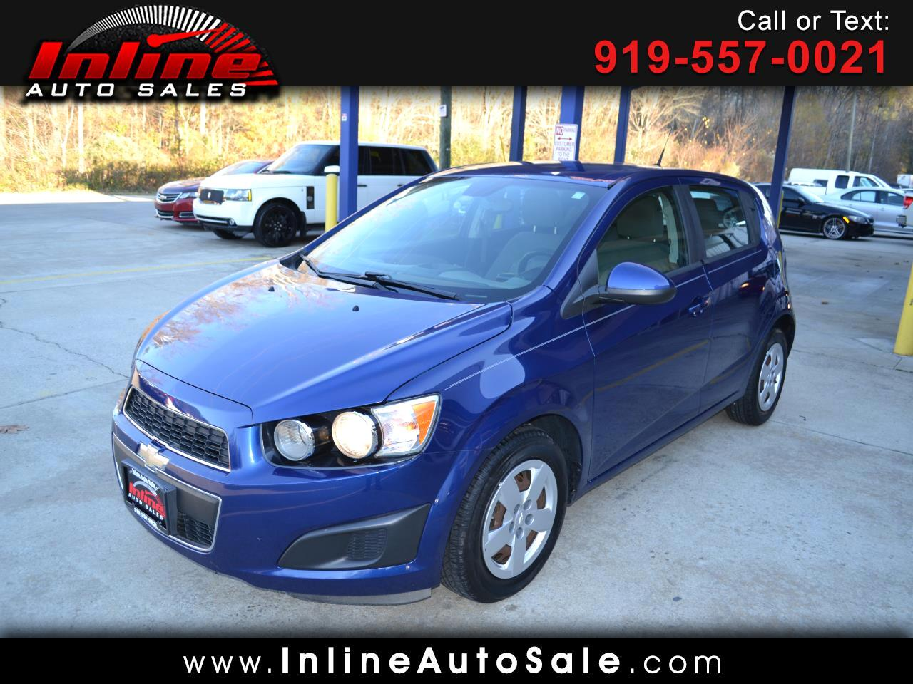 2013 Chevrolet Sonic 5dr HB Manual LS