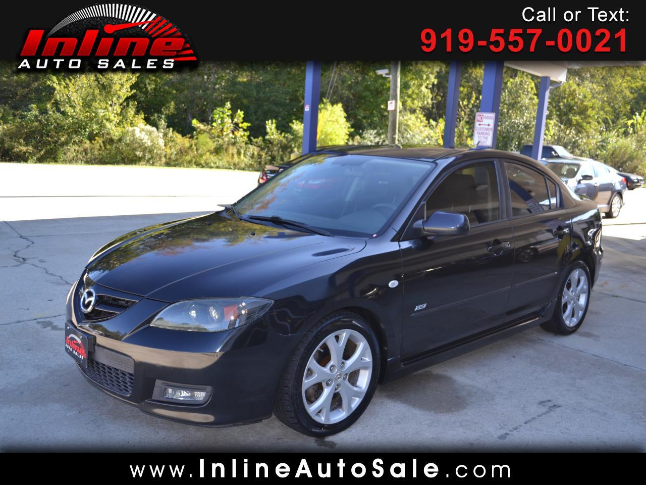 2007 Mazda MAZDA3 4dr Sdn Manual s Touring