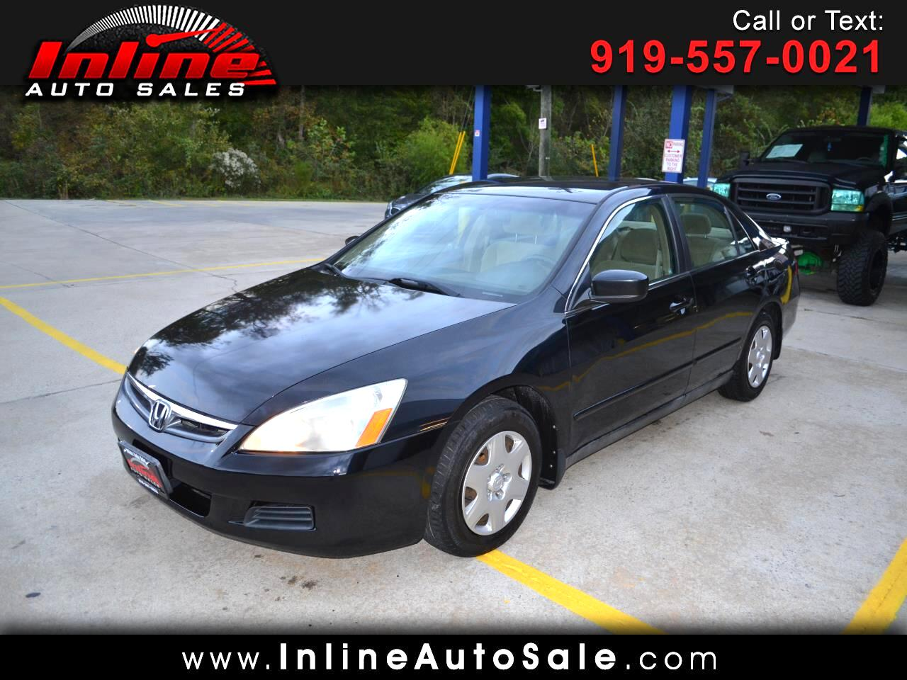 2006 Honda Accord Sdn LX AT