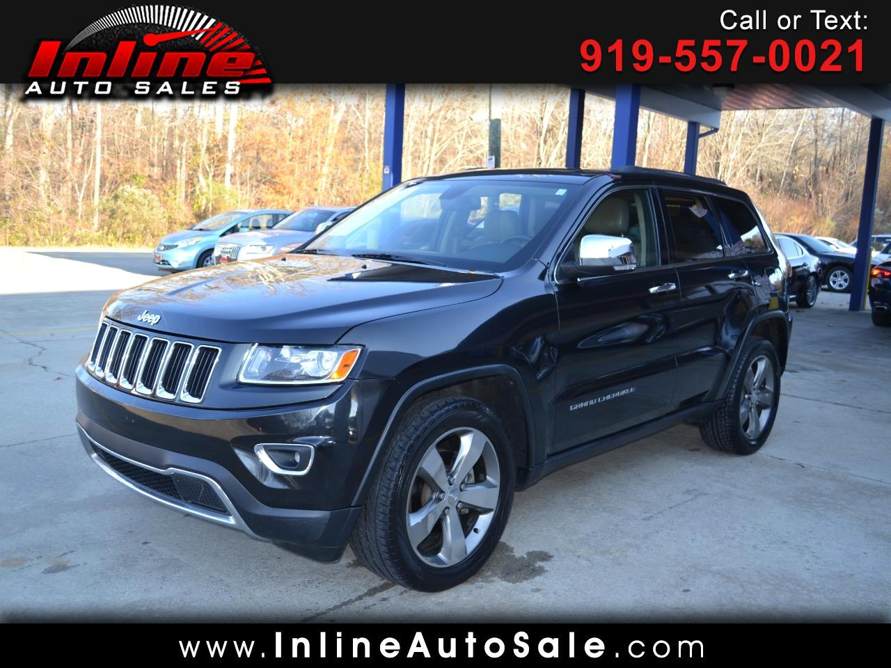 Jeep Grand Cherokee RWD 4dr Limited 2014
