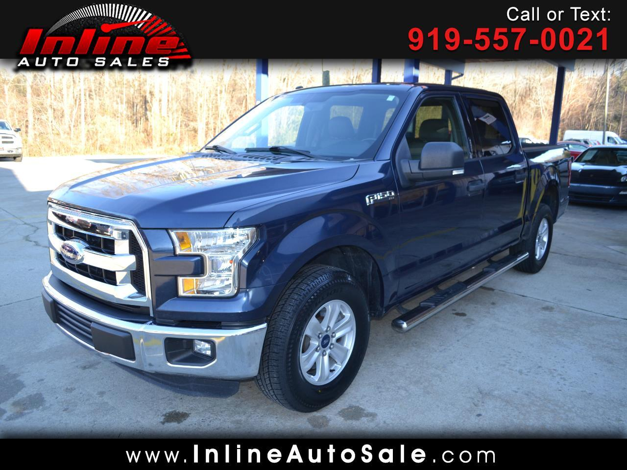 "Ford F-150 2WD SuperCrew 157"" XLT 2016"