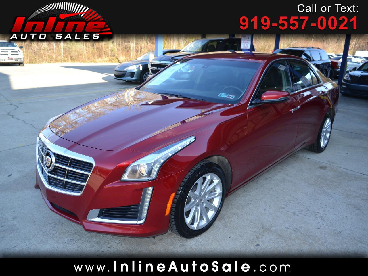 Cadillac CTS Sedan 4dr Sdn 2.0L Turbo AWD 2014