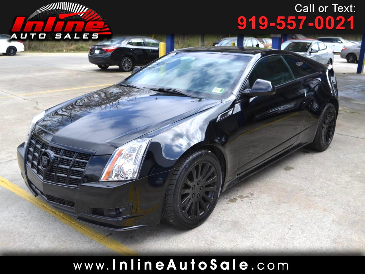 Cadillac CTS Coupe 2dr Cpe Performance AWD 2014