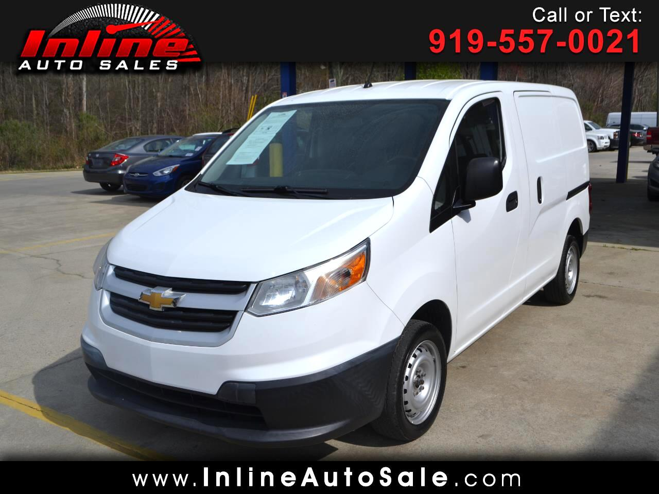 "Chevrolet City Express Cargo Van FWD 115"" LS 2015"