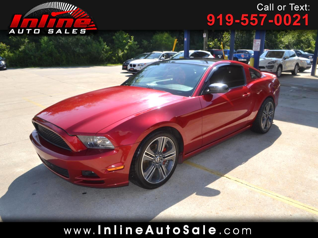 Ford Mustang 2dr Cpe V6 Premium 2013