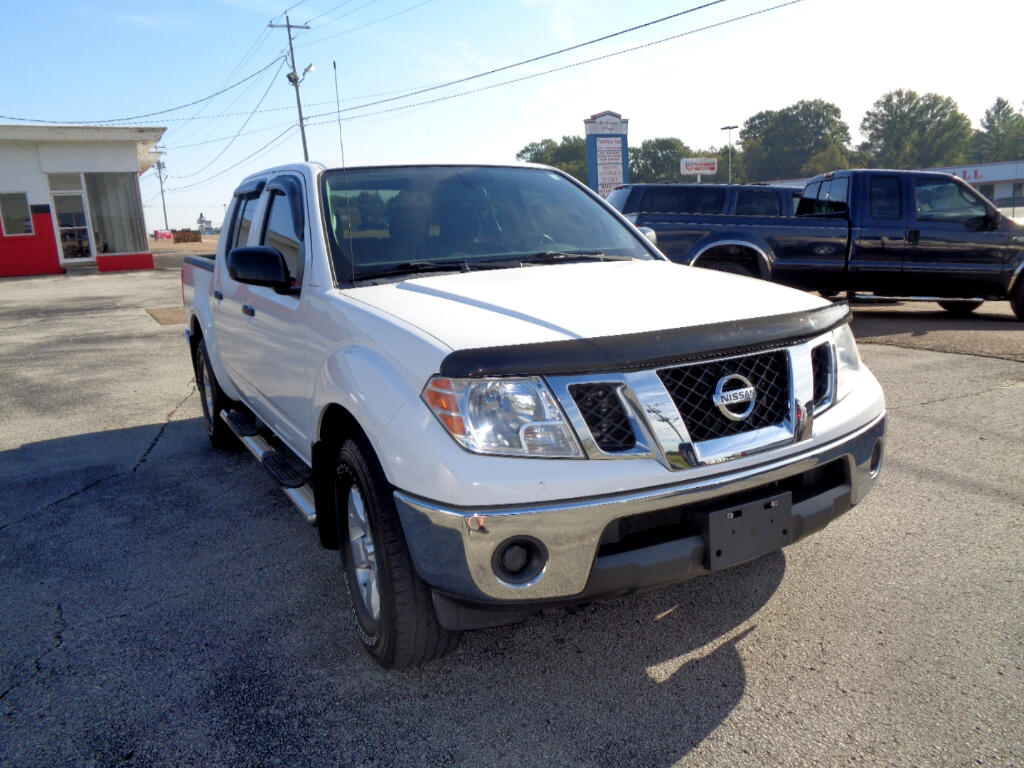 2010 Nissan Frontier 4WD Crew Cab SWB Auto SE