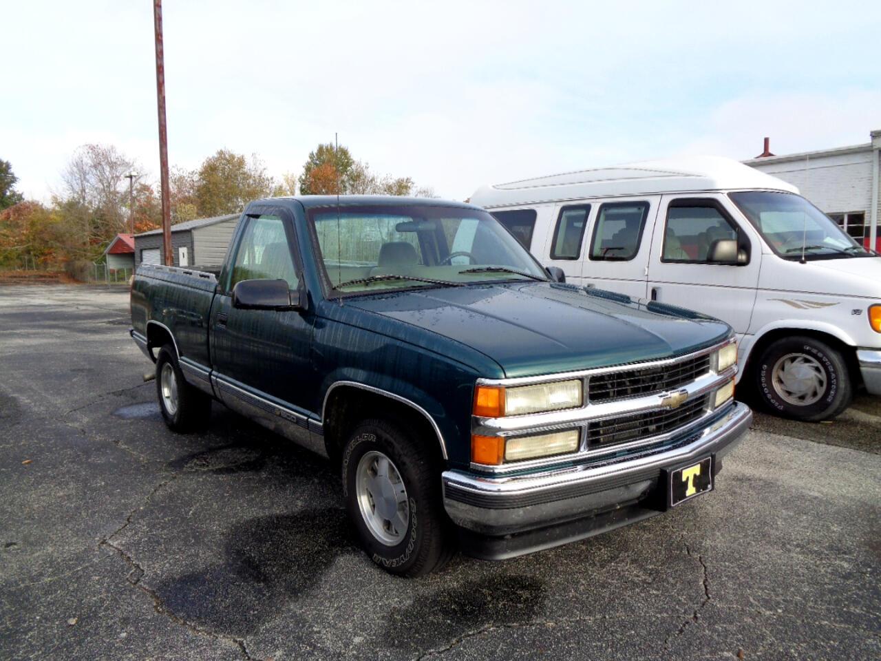 "1996 Chevrolet C/K 1500 Reg Cab Sportside 117.5"" WB"