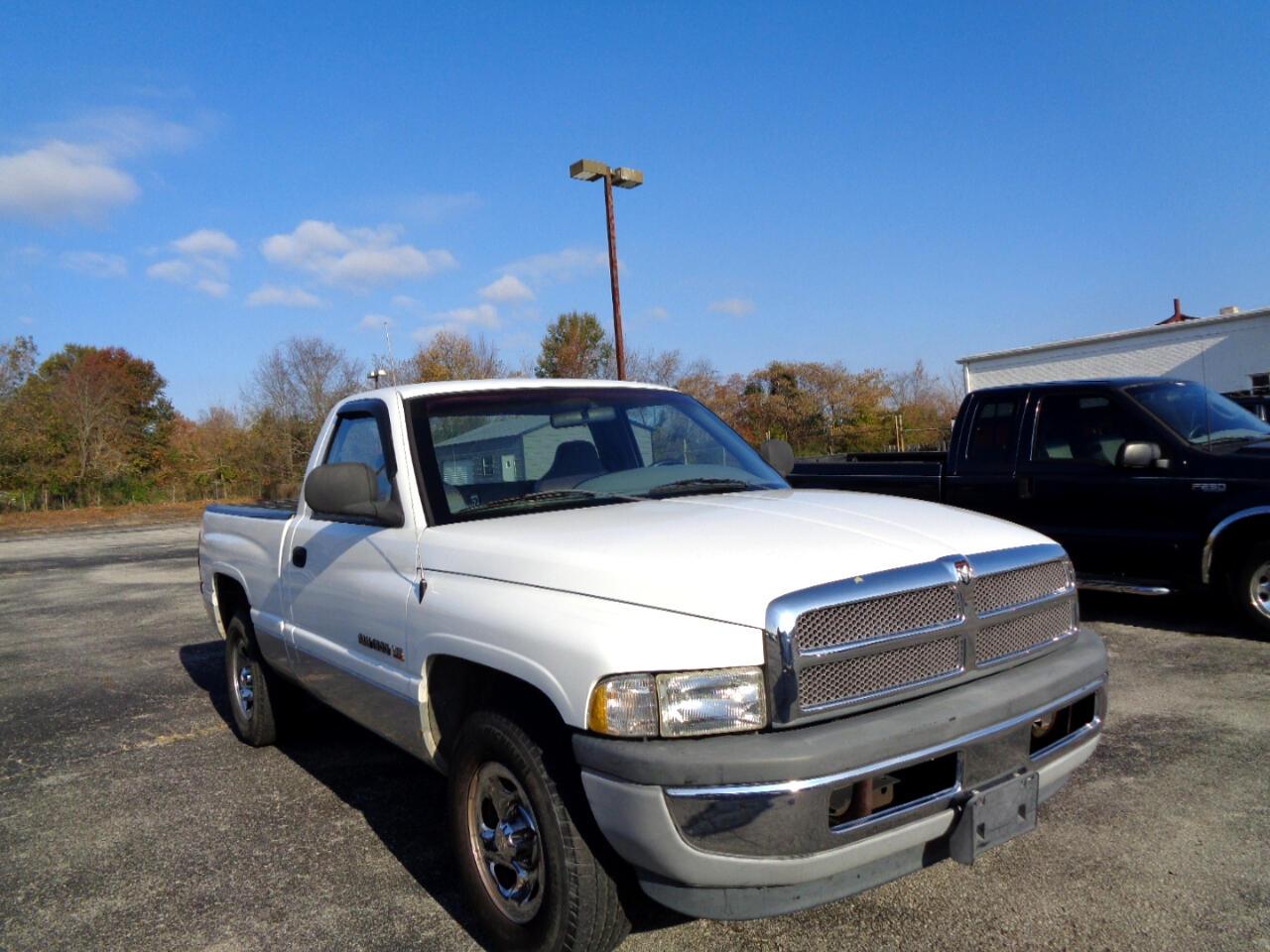 "2001 Dodge Ram 1500 2dr Reg Cab 119"" WB Work Special"