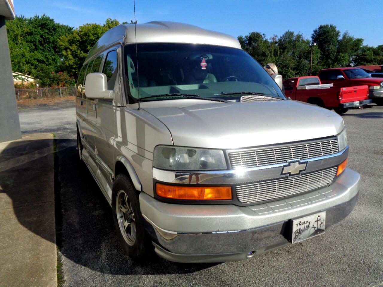 "2005 Chevrolet Express Cargo Van 1500 135"" WB RWD YF7 Upfitter"