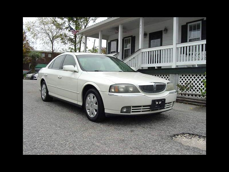 Lincoln LS V6 Appearance 2005