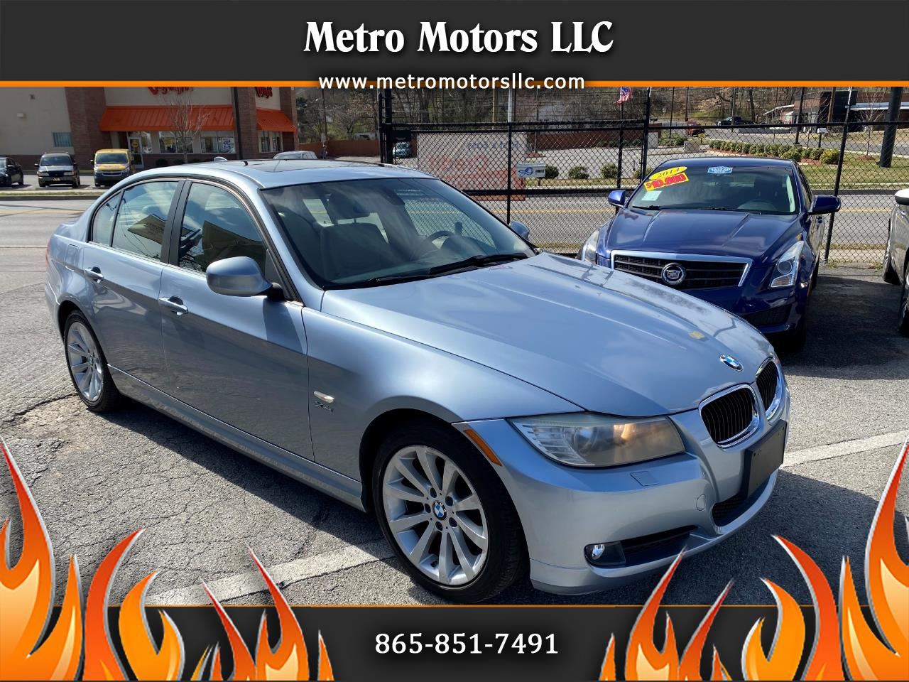 BMW 3 Series 325xi Sedan 2011
