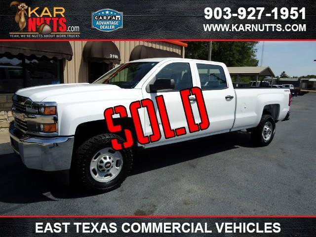 2015 Chevrolet Silverado 2500HD Work Truck Crew Cab Long Bed 4WD