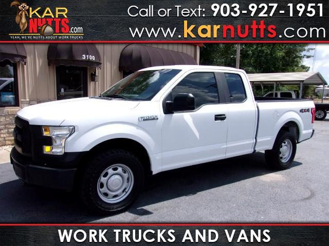 2015 Ford F-150 4wd SuperCab XLT work truck