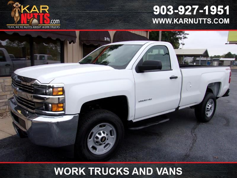 2016 Chevrolet Silverado 2500HD Work Truck Long Box 4WD