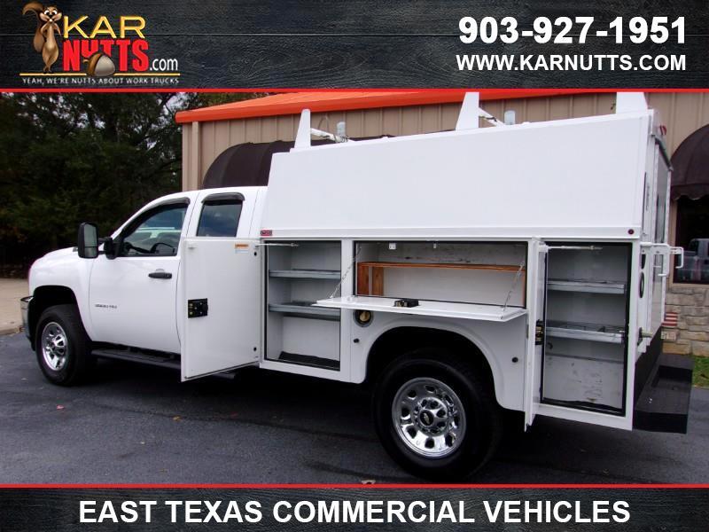2013 Chevrolet Silverado 3500HD Work Truck Ext. Cab Long Box 2WD