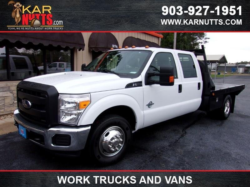 2016 Ford F-350 SD XLT Crew Cab Long Bed DRW 2WD Flatbed