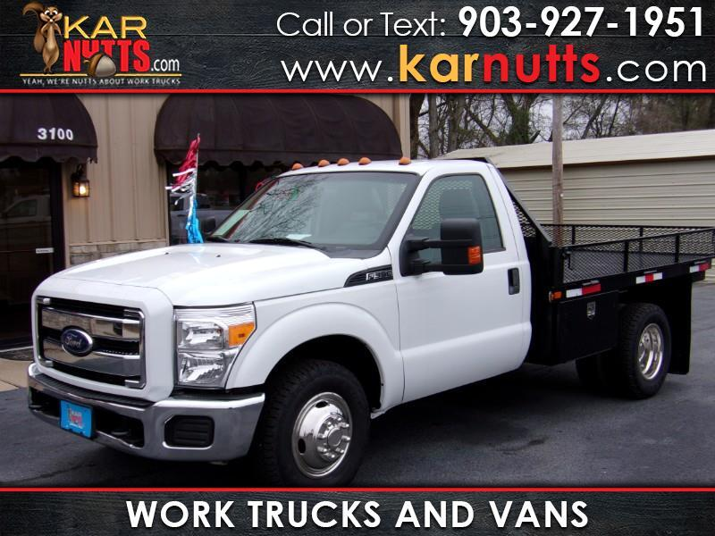 2012 Ford F-350 SD XLT DRW 2wd Work Truck Flatbed
