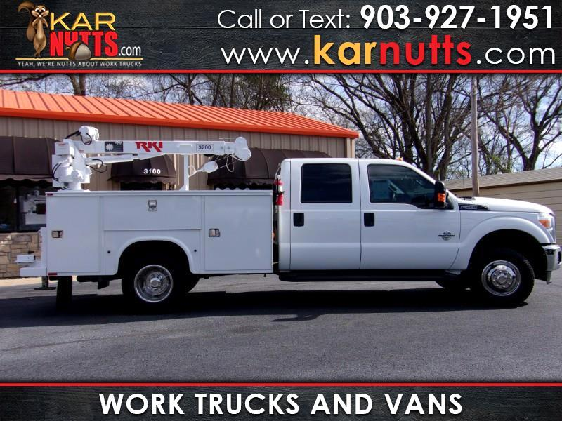 2014 Ford F-350 SD XLT SuperCab 4wd Crane Service Work Truck