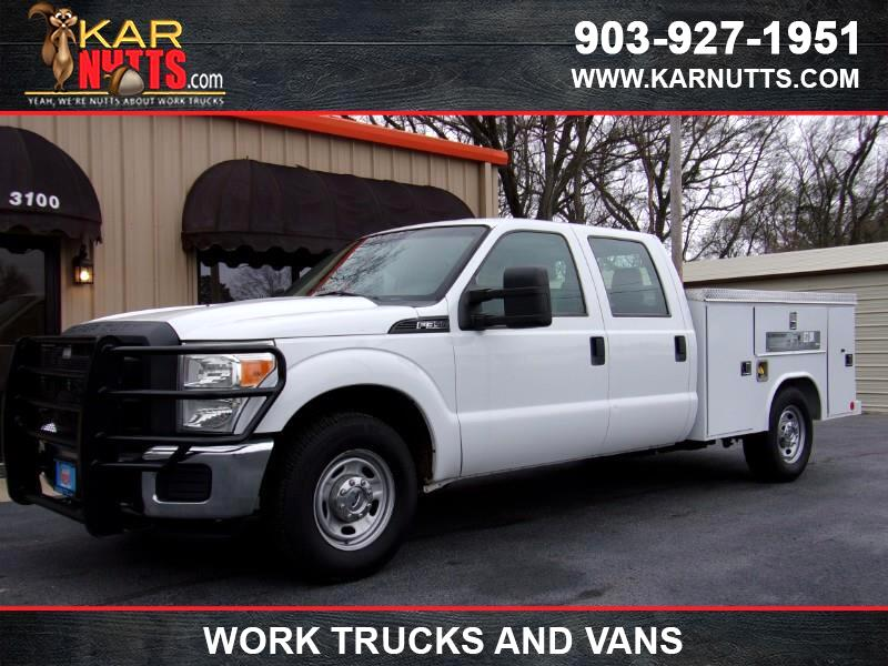 2013 Ford F-350 SD XL Crew Cab Long Bed 2WD