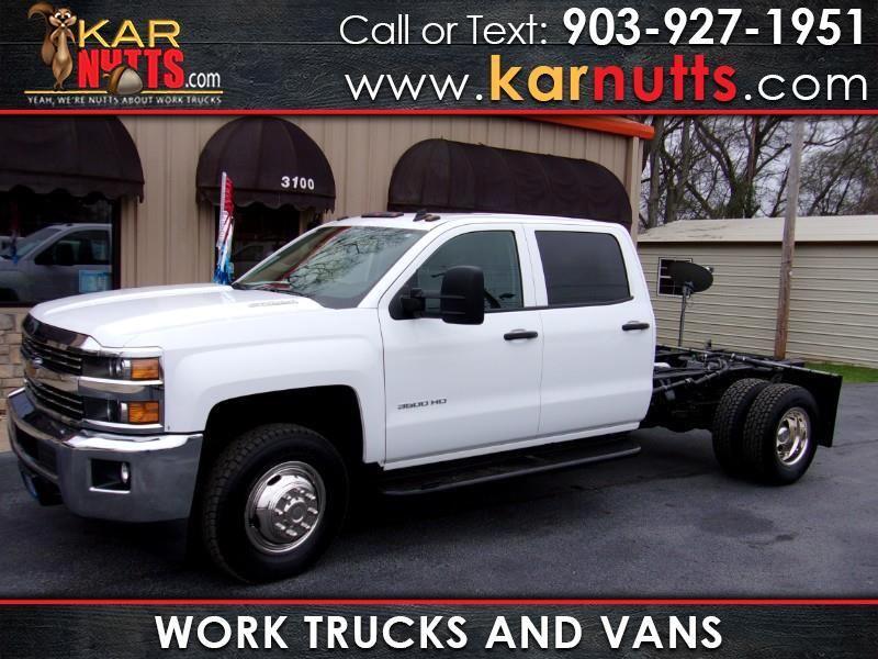 2015 Chevrolet Silverado 3500HD Crew Cab 2WD - Cab and Chassis - Work Truck