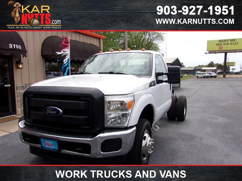 2013 Ford F-350 SD XLT DRW 4WD
