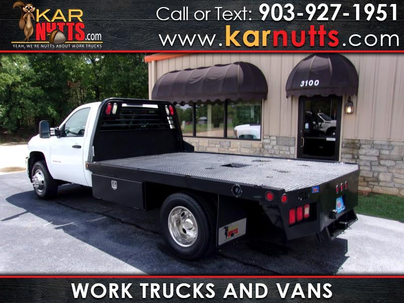 2014 Chevrolet Silverado 3500HD Work Truck 4WD 11 Ft, Flatbed