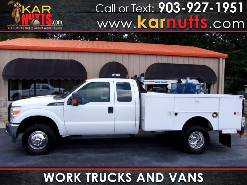 2011 Ford F-350 SD XL Supercab Long Bed DRW 4WD Crane Truck
