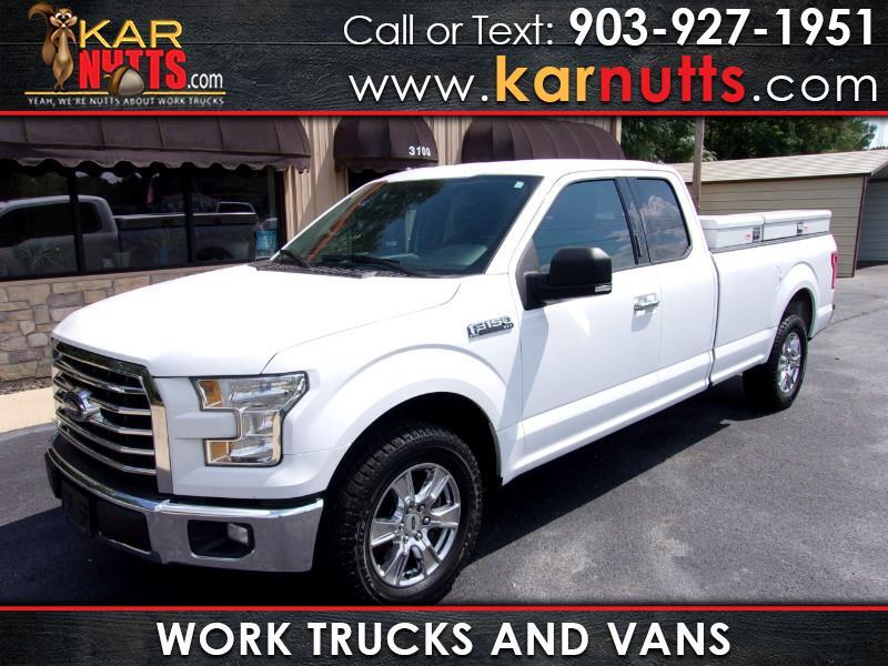 2016 Ford F-150 XLT SuperCab 8Ft. Bed 2WD Texas Edition