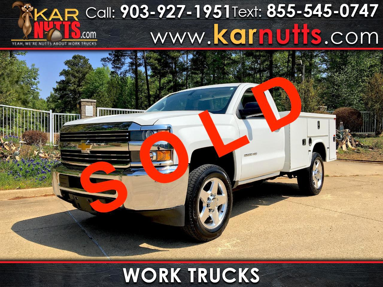 Chevrolet Silverado 2500HD Work Truck Long Box 2WD 2015