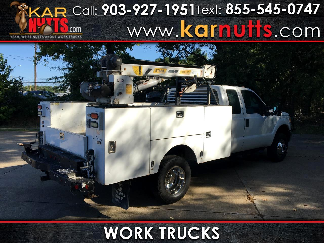 Ford F-350 SD XL SuperCab Long Bed DRW 4WD 2014