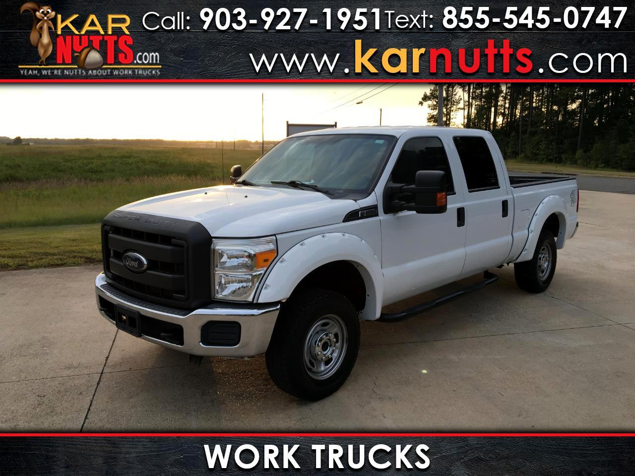 Ford F-250 SD XL Crew Cab Short Bed 4WD 2016