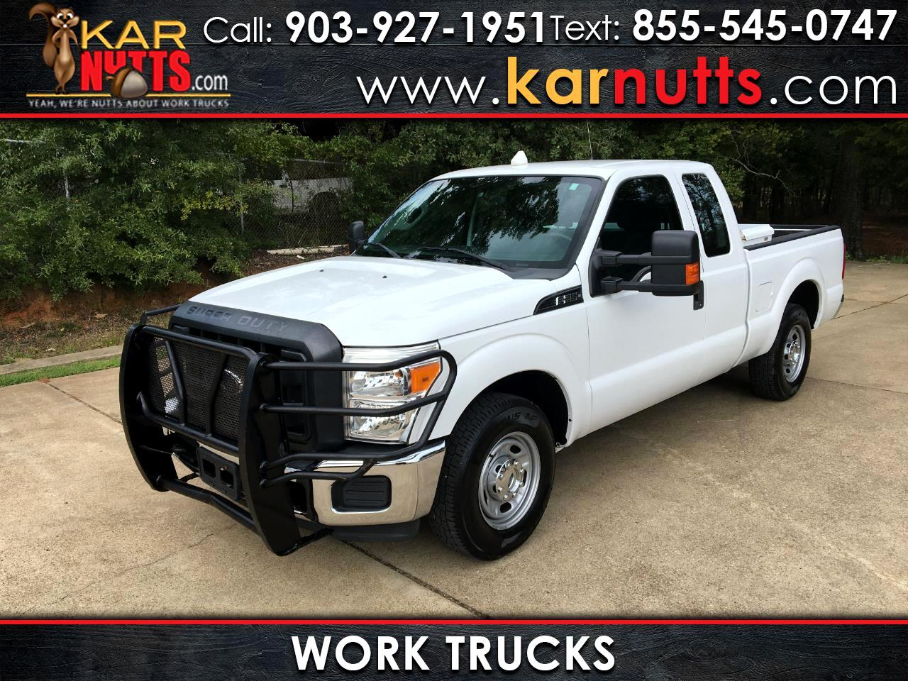 Ford F-250 SD XL SuperCab Short Bed 2WD 2016