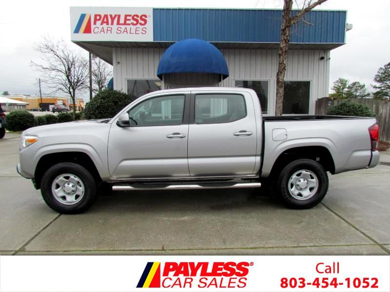 Toyota Tacoma SR5 Double Cab Long Bed I4 6AT 2WD 2018