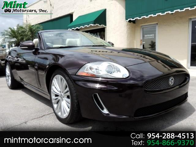 2011 Jaguar XK-Series XK Convertible