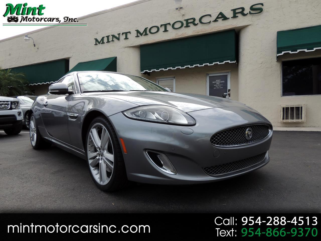 2013 Jaguar XK-Series XK Coupe