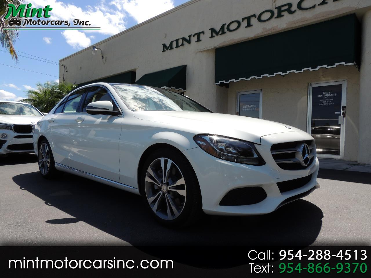 2016 Mercedes-Benz C-Class C300 Sedan