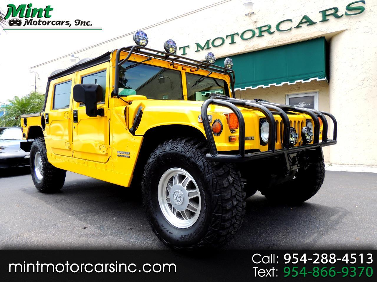 2001 AM General Hummer Open Top 4-Door