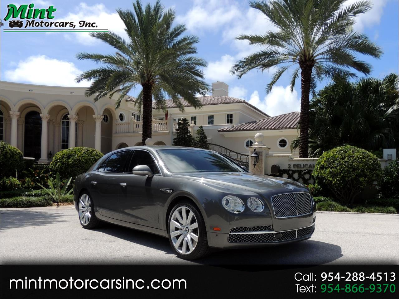 Bentley Continental Flying Spur Sedan 2014