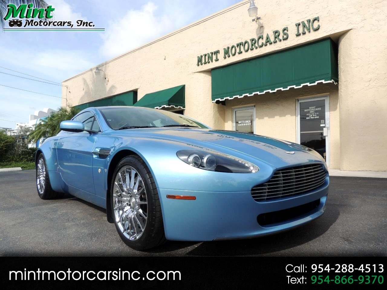 Aston Martin V8 Vantage Coupe 2008