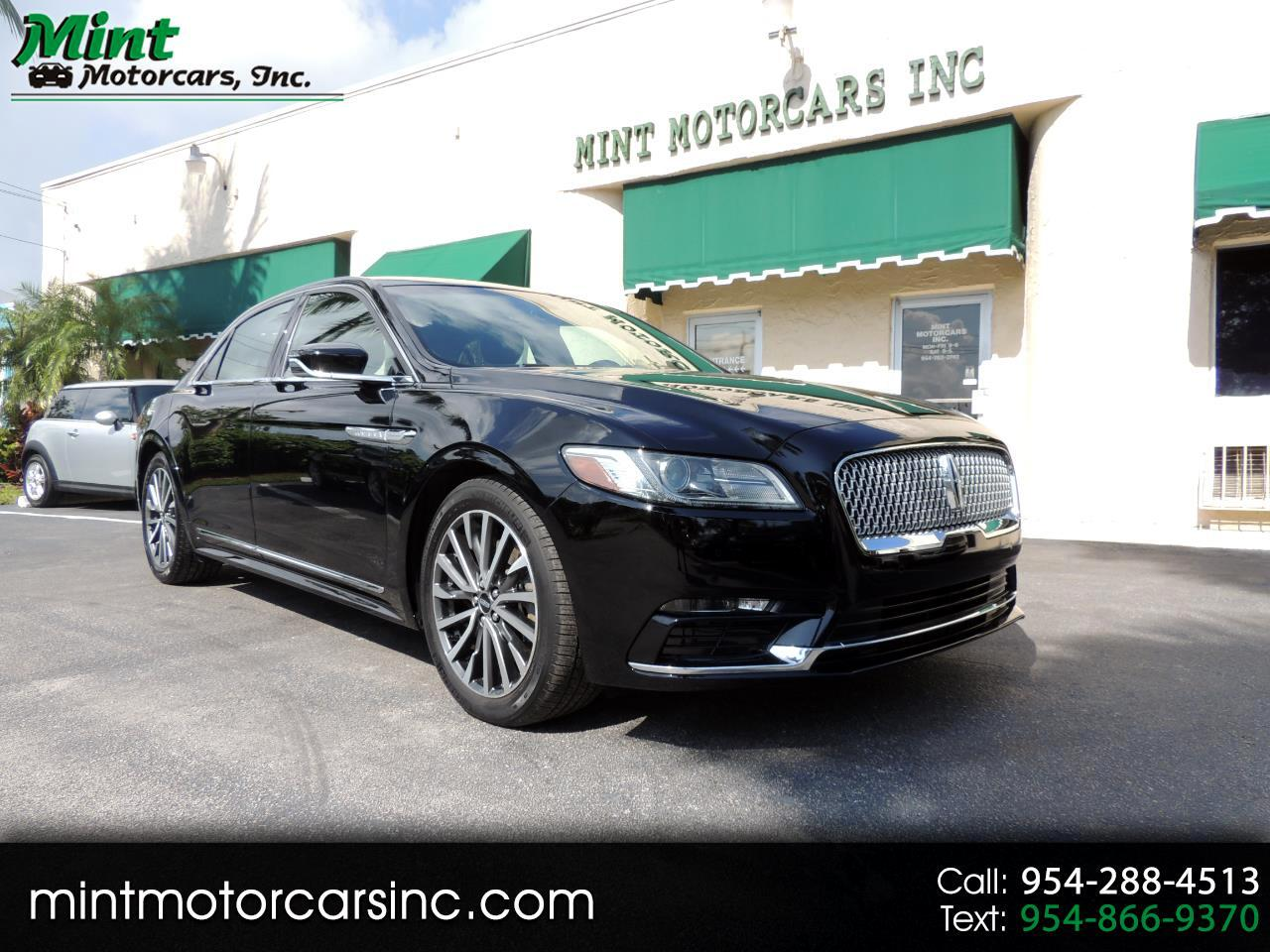 Lincoln Continental Select FWD 2017