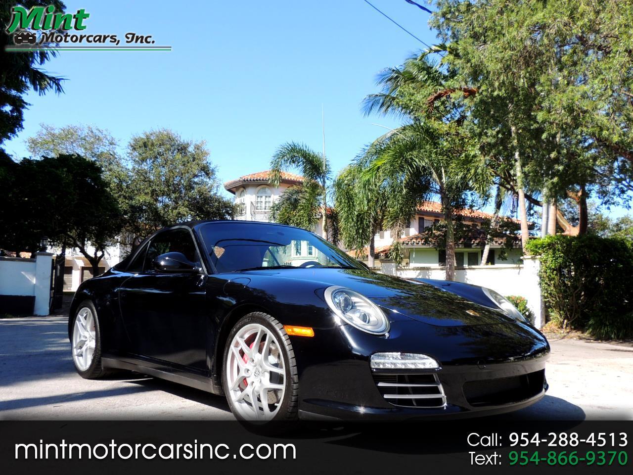 Porsche 911 Carrera 4S Cabriolet 2011